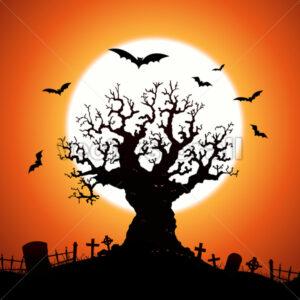 Halloween Tree - Benchart's Shop