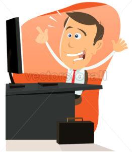 Happy Man On The Web - Benchart's Shop