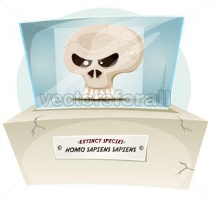 Homo Sapiens Extinct Species - Vectorsforall