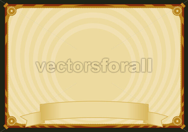 Horizontal Retro Poster Background - Benchart's Shop