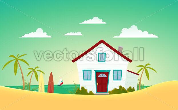 House Of The Beach - Benchart's Shop