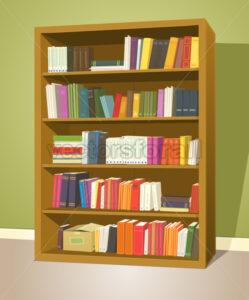 Library Bookshelf - Benchart's Shop