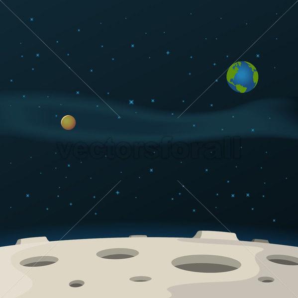 Moon Surface - Benchart's Shop