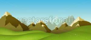 Mountain Range - Benchart's Shop