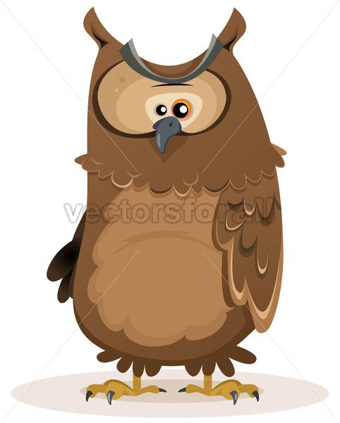 Owl Character - Vectorsforall