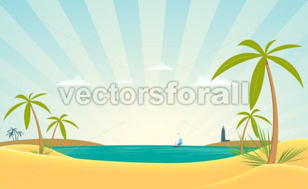 Paradise Bay - Vectorsforall