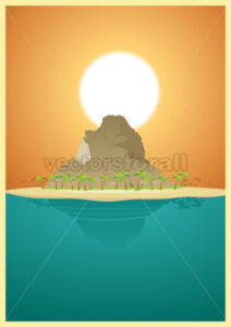 Paradise Desert Island - Benchart's Shop