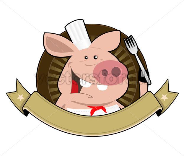 Pig Palace Banner - Vectorsforall