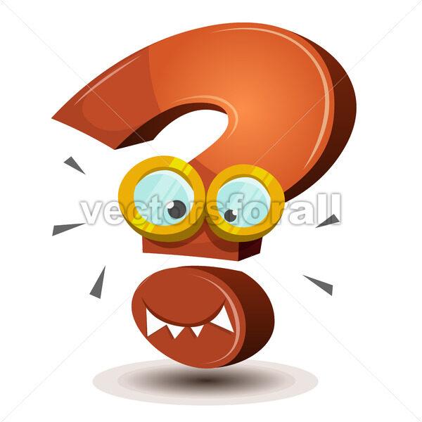 Question Mark Character - Vectorsforall