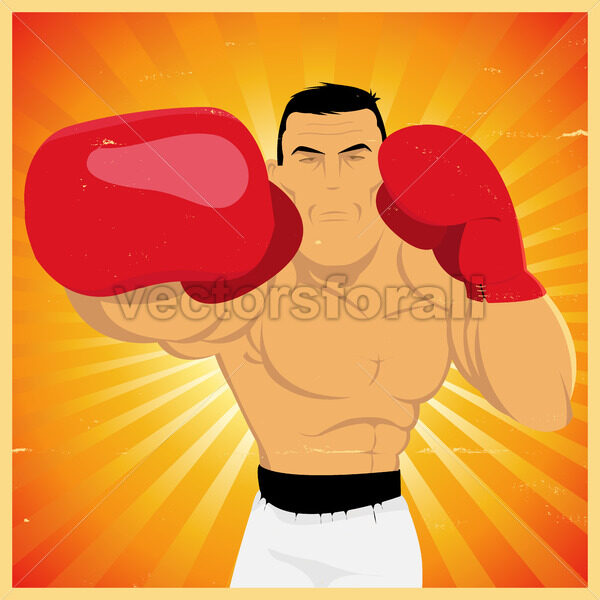 Right Arm Counterpunch And Knockout ! - Vectorsforall