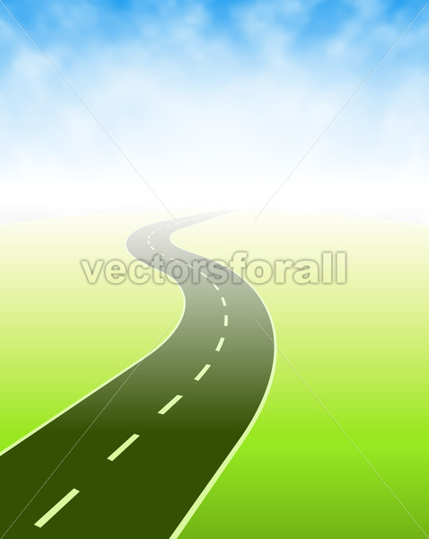 Road Going Somewhere - Vectorsforall