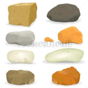Rocks And Stones Set - Benchart's Shop