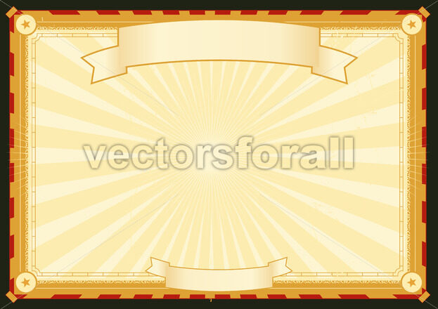 Royal Palace Horizontal Poster - Vectorsforall