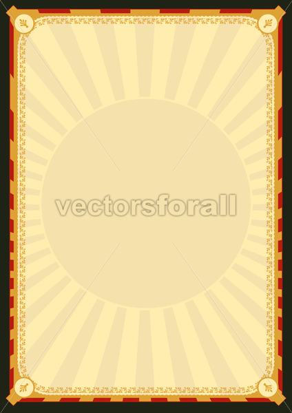 Royal Palace Poster - Vectorsforall