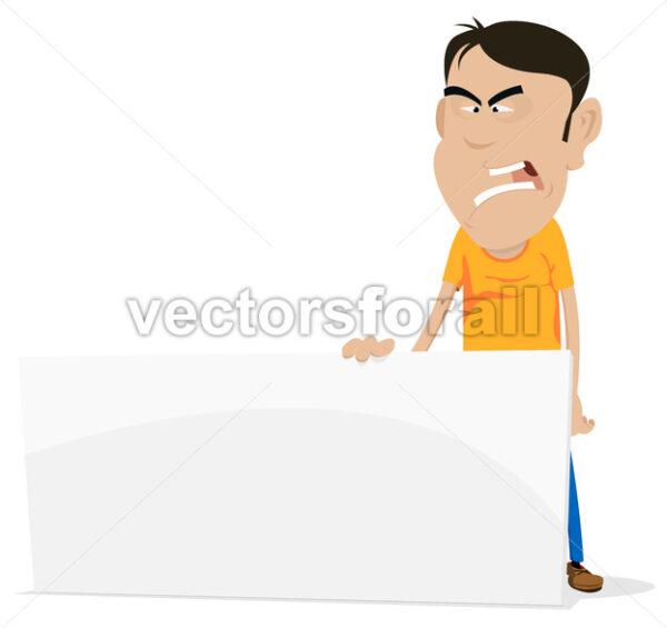 Sad And Angry Character - Vectorsforall