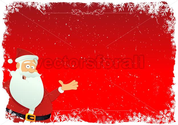 Santa Background - Benchart's Shop