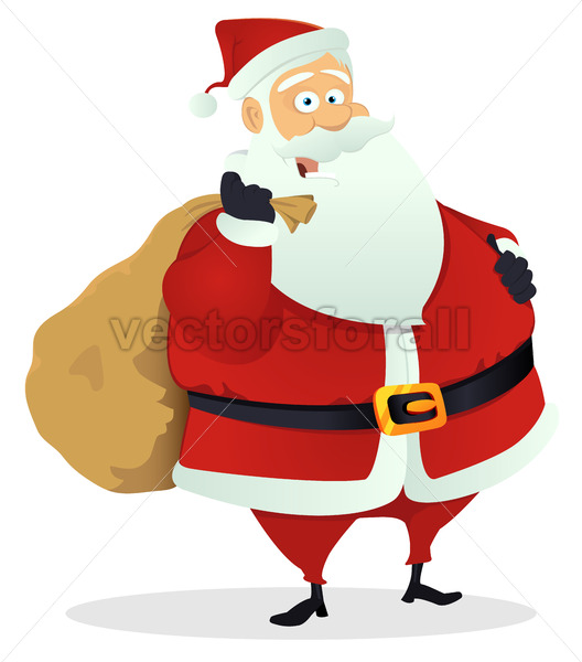 Santa Claus - Vectorsforall