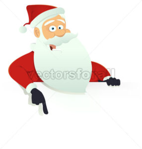 Santa Claus Blank Sign - Benchart's Shop