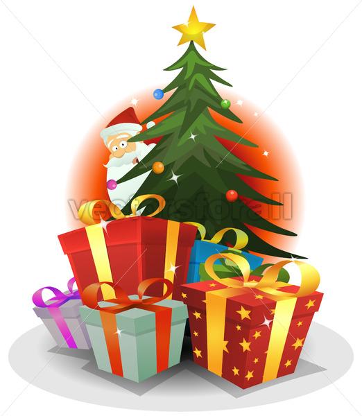 Santa Claus Delivery - Vectorsforall
