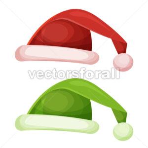 Santa Claus Hat - Vectorsforall