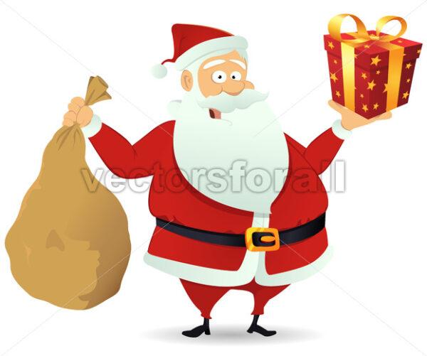 Santa Delivery - Vectorsforall