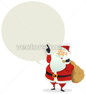 Santa Delivery – Speech Bubble Message - Benchart's Shop