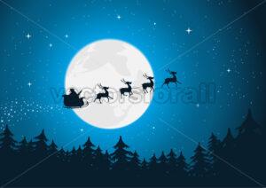 Santa's Sleigh - Benchart's Shop