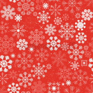 Seamless Christmas Snowflakes Background - Vectorsforall