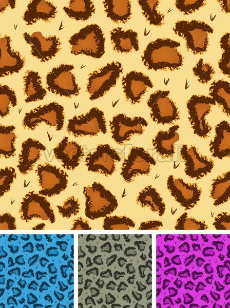 Seamless Leopard Or Cheetah Fur Background - Vectorsforall