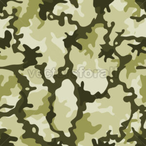 Seamless Military Camouflage - Vectorsforall