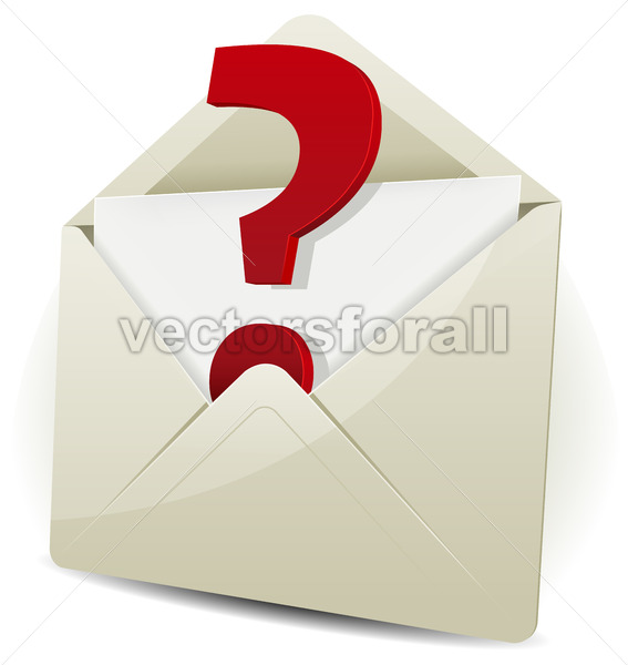 Send In Request By Email - Vectorsforall