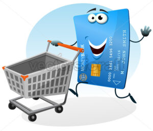 Shopping With Credit Card - Benchart's Shop