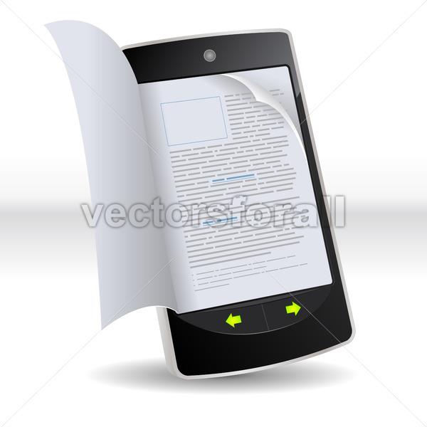 Smartphone Flipping Book - Benchart's Shop