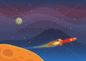 Spaceship Travel In Space - Benchart's Shop