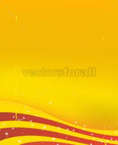 Spanish Summer Vintage Background - Vectorsforall
