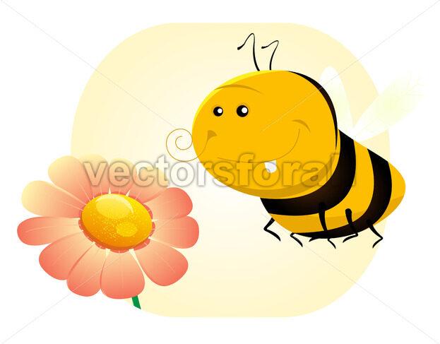 Spring Bee - Vectorsforall
