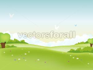 Spring Landscape - Benchart's Shop