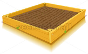 Square-Foot Gardening - Vectorsforall