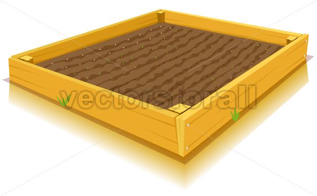 Square-Foot Gardening - Vectorsforall