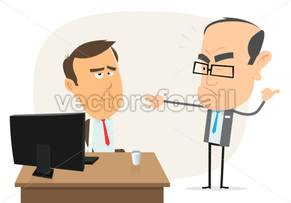 Stupid Boss ! - Vectorsforall