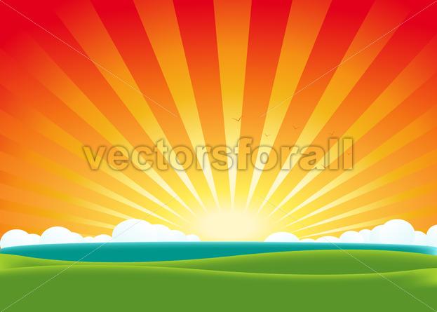 Summer Landscape - Benchart's Shop