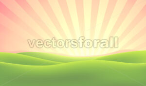 Summer Nature Sunrise Background - Benchart's Shop