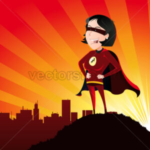 Super Hero – Female - Benchart's Shop