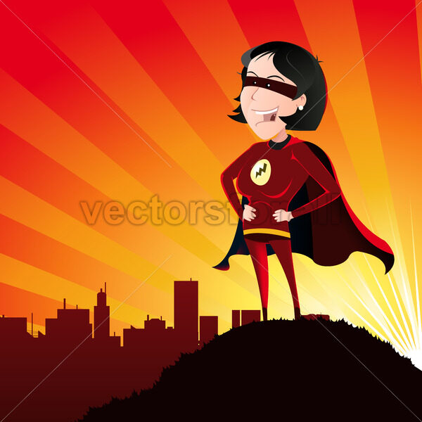 Super Hero – Female - Vectorsforall