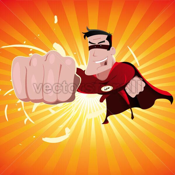 Super Hero – Male - Vectorsforall
