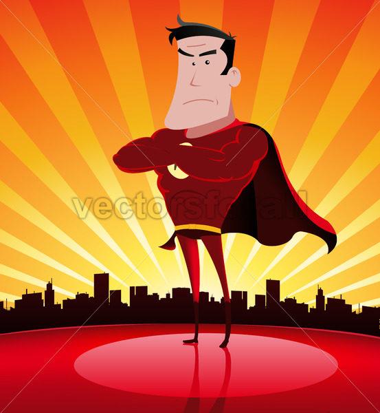 Super Hero In The City - Benchart's Shop