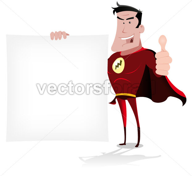 Super Hero Message - Vectorsforall