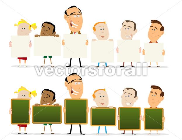 Teachers And Child Classroom Set - Benchart's Shop