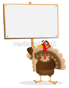 Thanksgiving Turkey Sign - Benchart's Shop