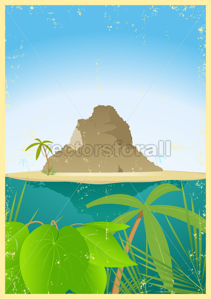 Travel Agency Poster - Vectorsforall